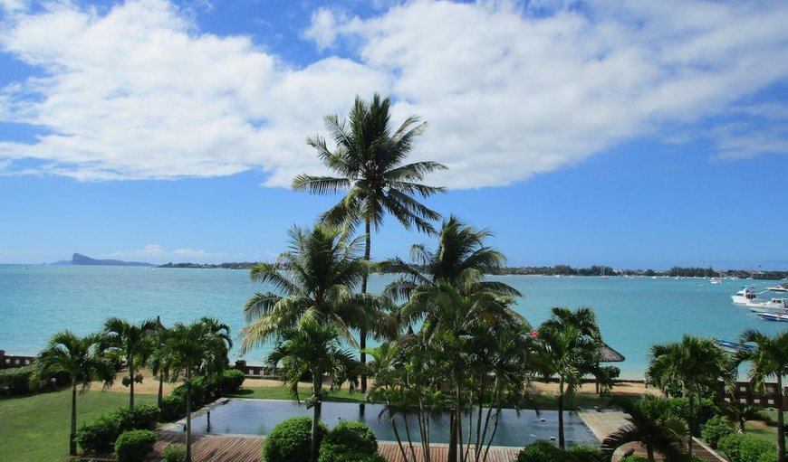 The Bay Villa has a pool on the beachfront in Grand Baie, Mauritius, Mauritius, Mauritius