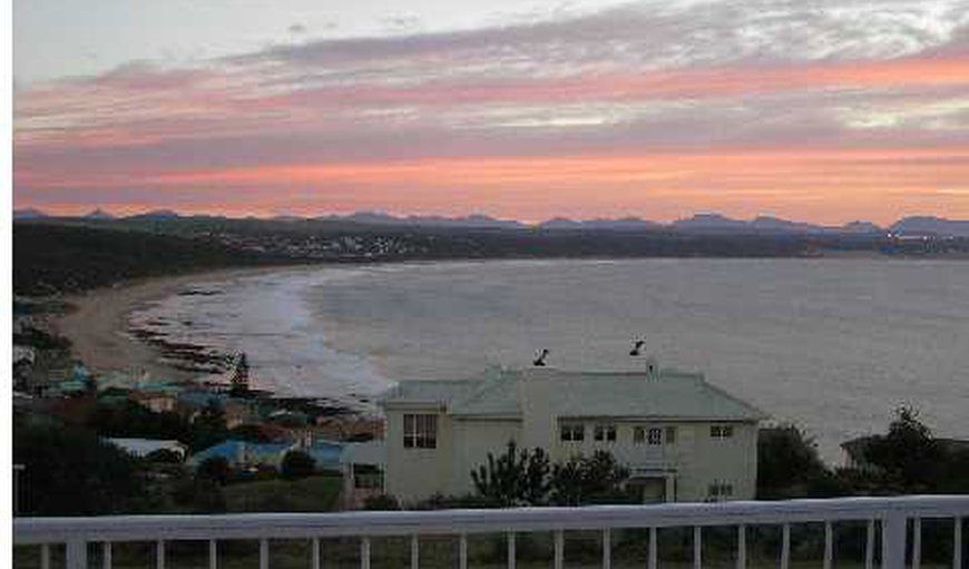 Sea view from house in Mossel Bay, Western Cape, South Africa
