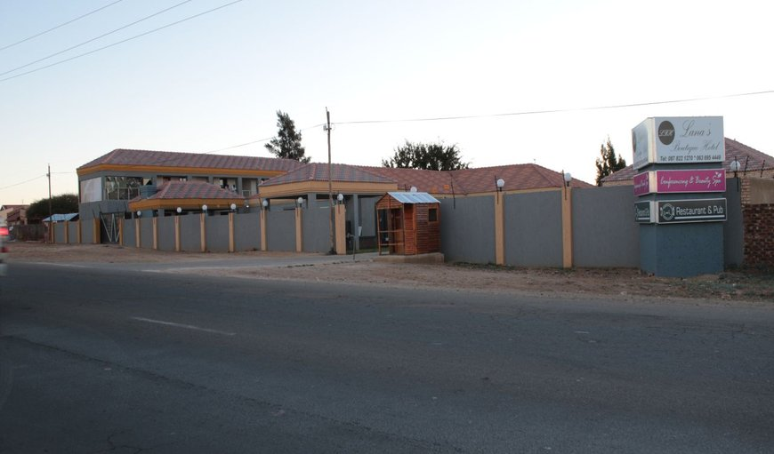 Welcome to Lana's Boutique Hotel in Mafikeng, North West Province, South Africa