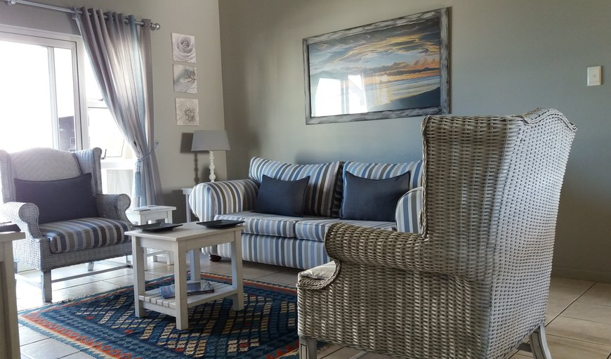 Inviting lounge area. in Diaz Beach , Mossel Bay, Western Cape , South Africa