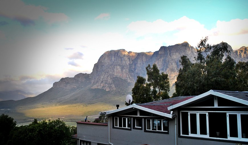 Beautiful mountains views in Stellenbosch, Western Cape , South Africa