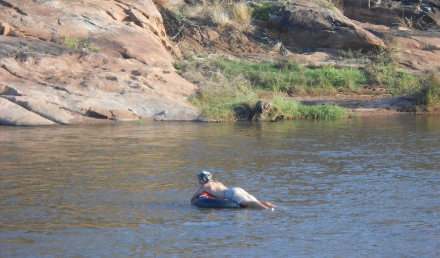 Tubing the Mutale River