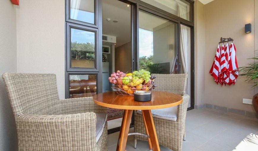 Patio/balcony with outdoor furniture in Ballito, KwaZulu-Natal, South Africa
