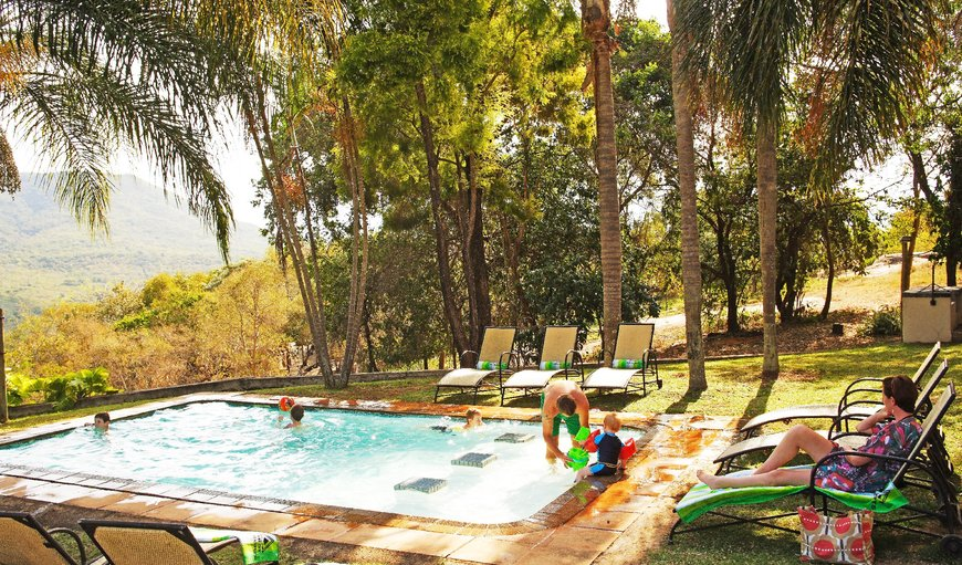 Pool area. in Hazyview, Mpumalanga, South Africa
