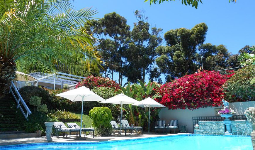 Roosboom Luxury Guest Apartments offers a beautiful garden with a communal outdoor swimming pool for all guests to enjoy.
