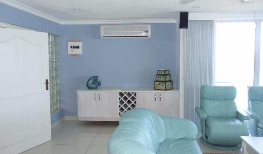 Lounge with an air conditioner in Ramsgate, KwaZulu-Natal , South Africa