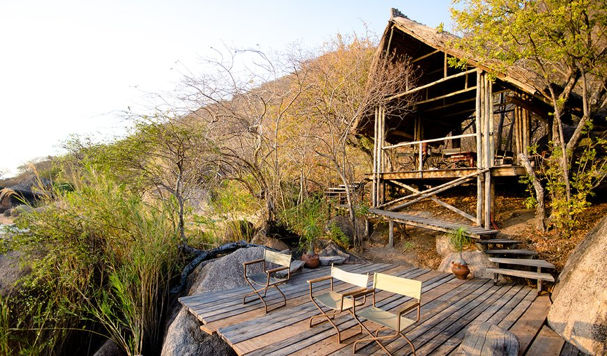Safari Tents at Domwe Island