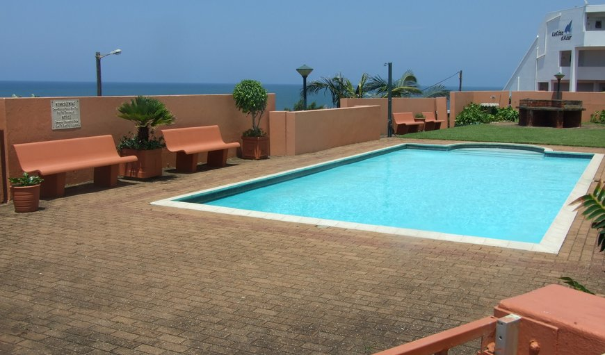 Communal swimming pool and braai area in the complex in Manaba Beach, Margate, KwaZulu-Natal , South Africa