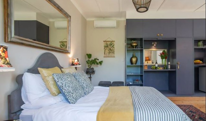 Beautifully decorated bedroom in Polomino in Stellenbosch, Western Cape, South Africa