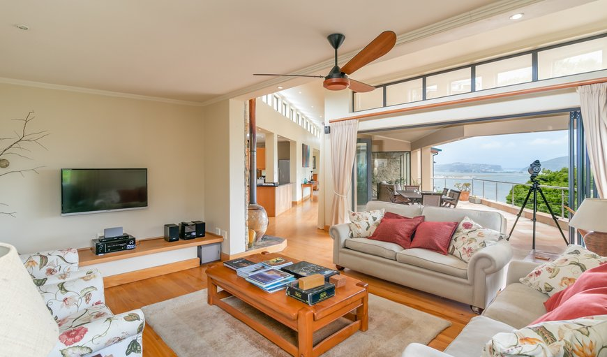 Living Room leading to Patio in Paradise, Knysna, Western Cape, South Africa