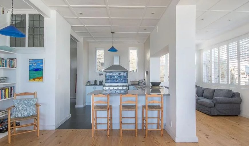 The Baytree Beach House breakfast area.