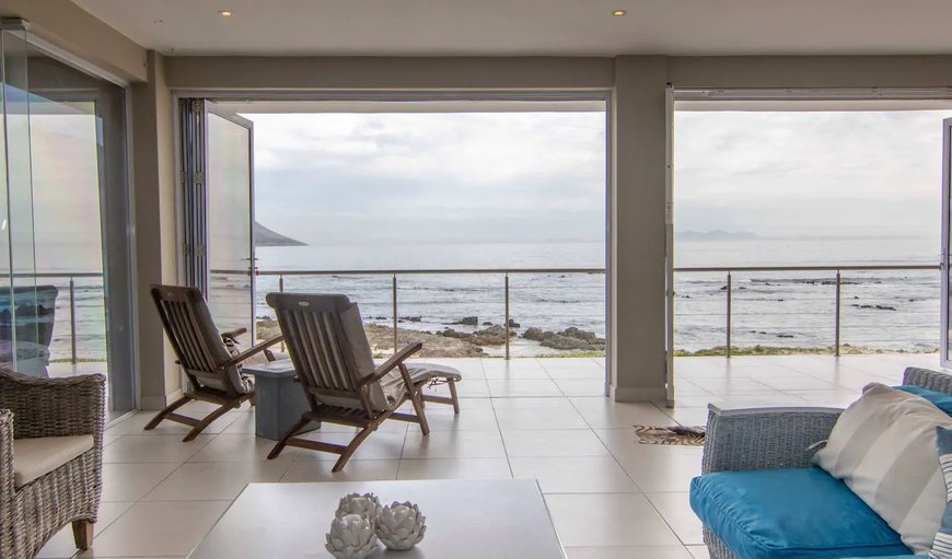 Welcome to the stunning Beachfront Heaven on the ocean. in Gordon's Bay, Western Cape, South Africa
