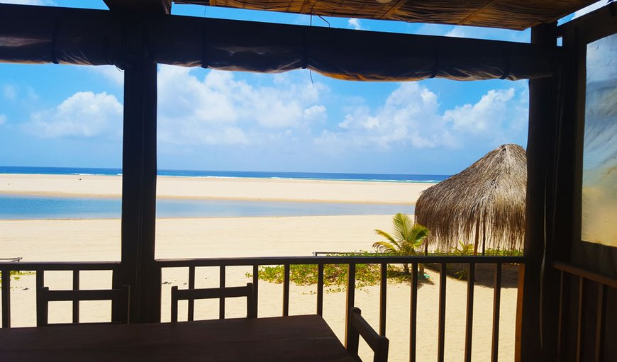Breathtaking views in Praia da Barra, Inhambane Province, Mozambique
