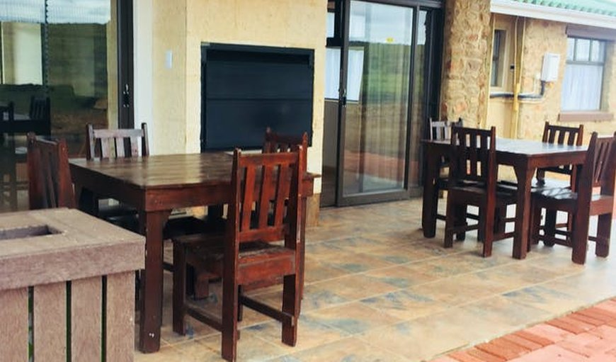 Patio with Braai Area