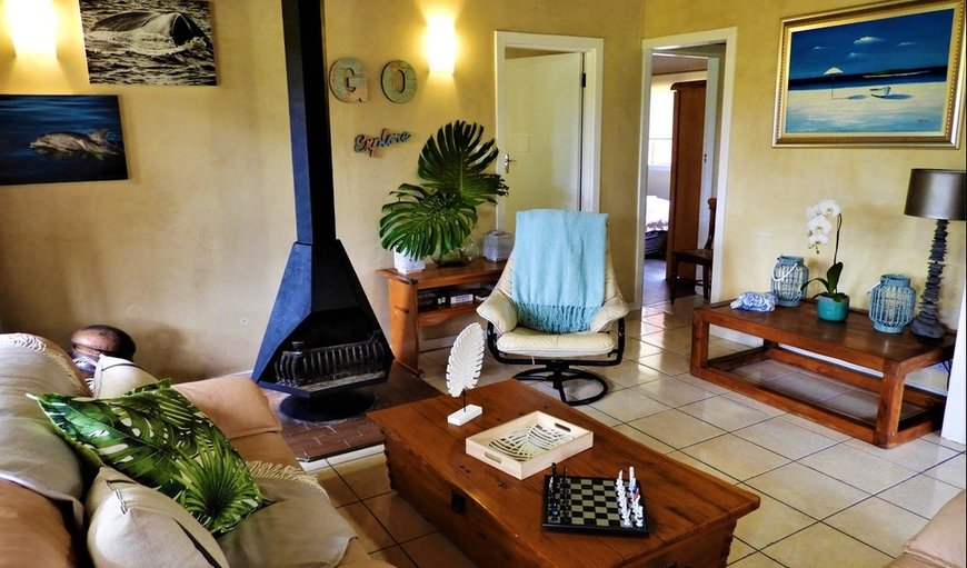 Lounge with Fireplace in Harkerville, Plettenberg Bay, Western Cape, South Africa