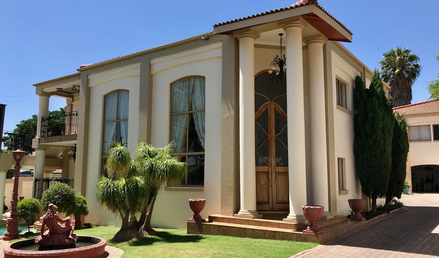 Facade in Fairmount, Johannesburg (Joburg), Gauteng, South Africa
