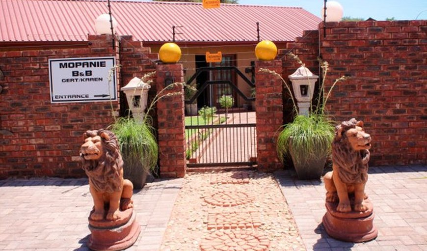 Welcome to Mopanie Guest House. in Kathu, Northern Cape, South Africa