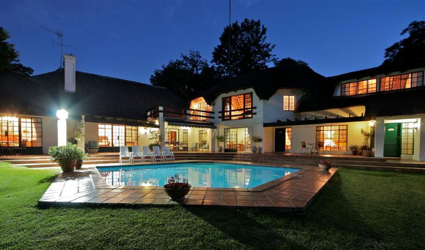 Front of House and Pool in Sandton, Johannesburg (Joburg), Gauteng, South Africa