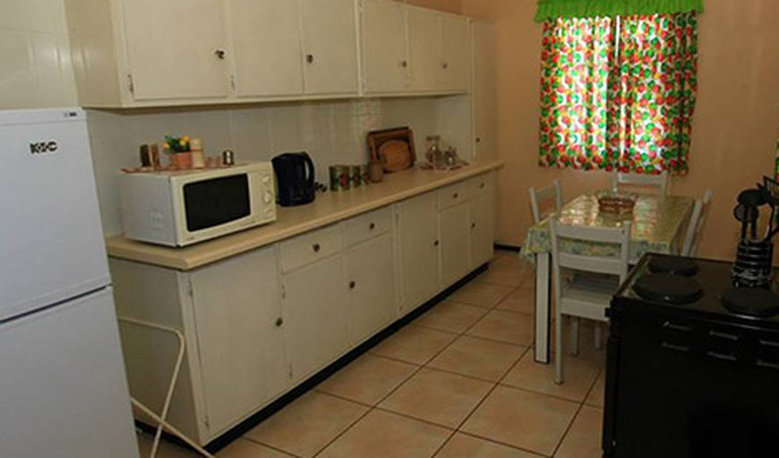 Fully equipped kitchen in the cottage