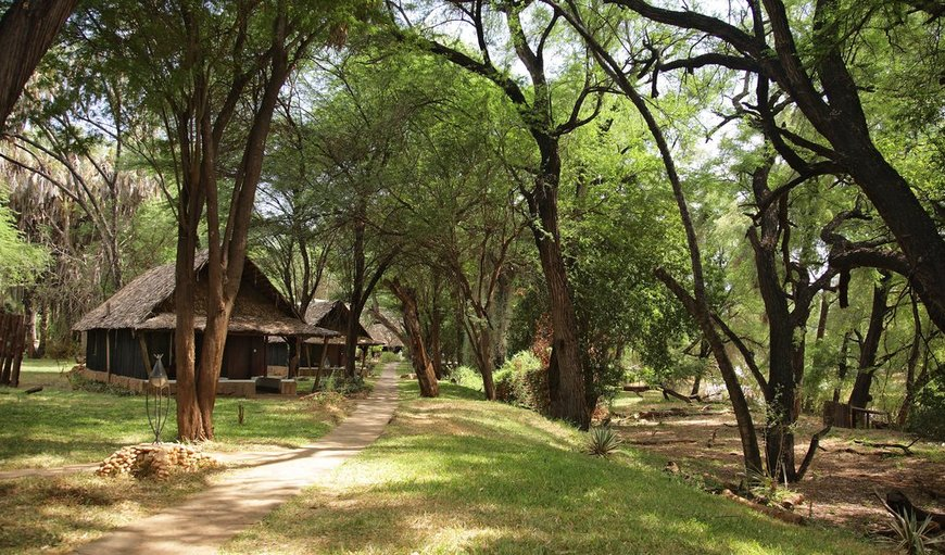 Welcome to Samburu Lodge in Samburu Reserve, Rift Valley, Kenya
