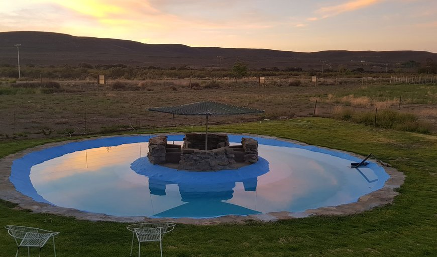 Swimming pool in Sutherland, Northern Cape, South Africa