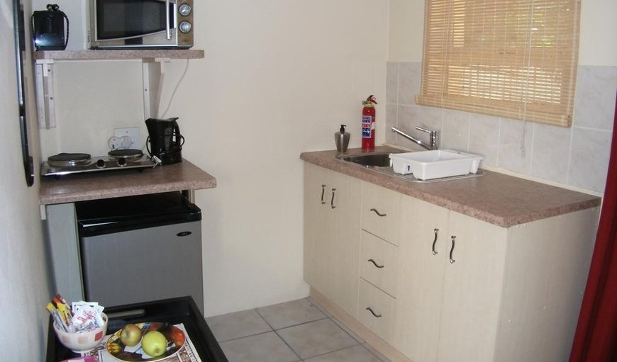 Our self-catering unit has a kitchenette