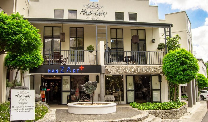 Welcome to The Ivy Apartments in Franschhoek, Western Cape, South Africa