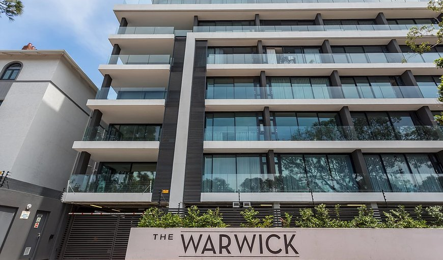 Welcome to The Warwick. in Green Point, Cape Town, Western Cape, South Africa