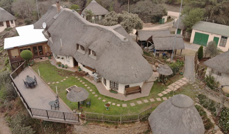 Ariel view of Hawklee Country House