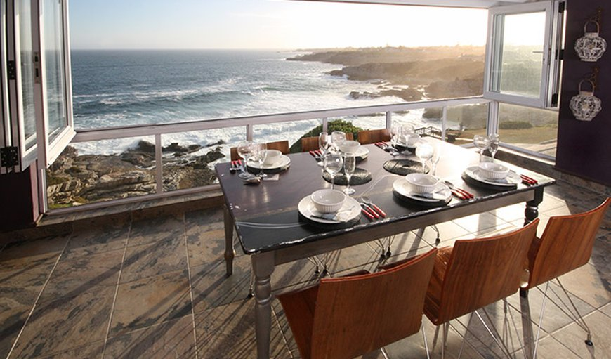 Spectacular views from the apartment in Hermanus, Western Cape, South Africa