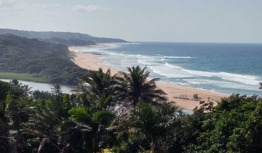 Zinkwazi Beach in Zinkwazi Beach, KwaZulu-Natal, South Africa