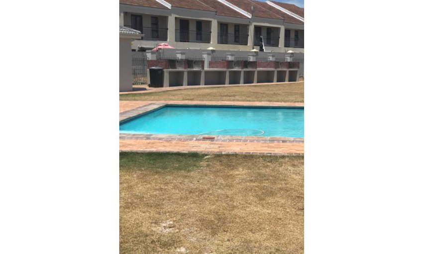 Communal pool in complex