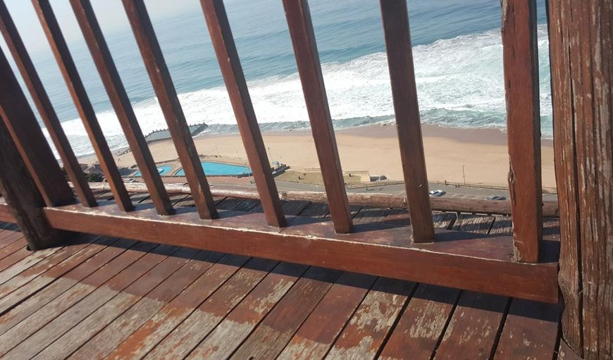 View from the large deck