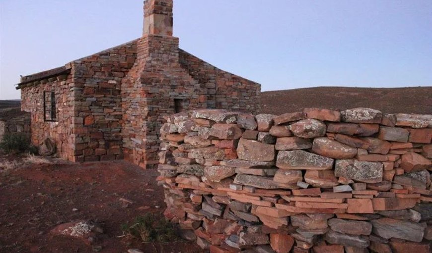 Exterior of cottage in Sutherland, Northern Cape, South Africa