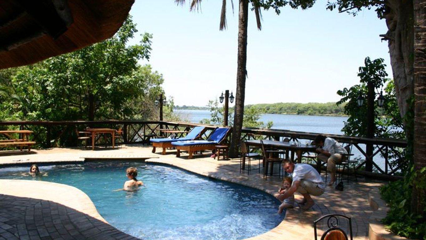 the zambezi waterfront in livingstone