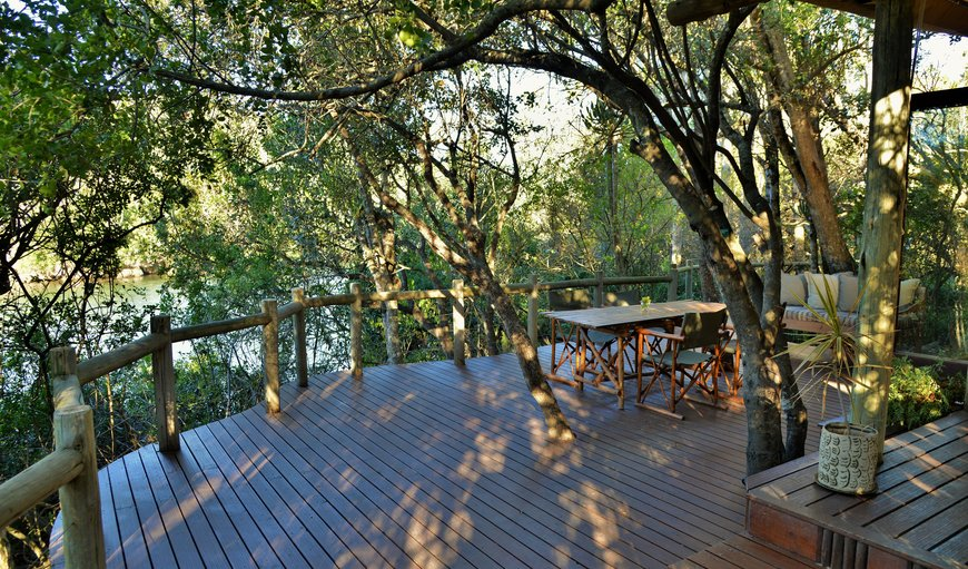 Lodge deck in Kenton-on-sea, Eastern Cape, South Africa