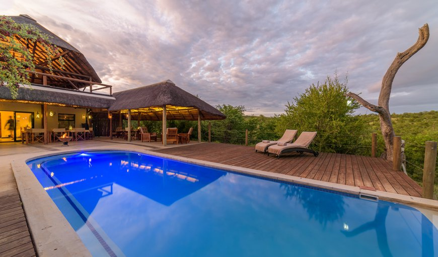 Large swimming pool at Lengau Lodge - Kruger National Park in Balule Nature Reserve, Limpopo, South Africa