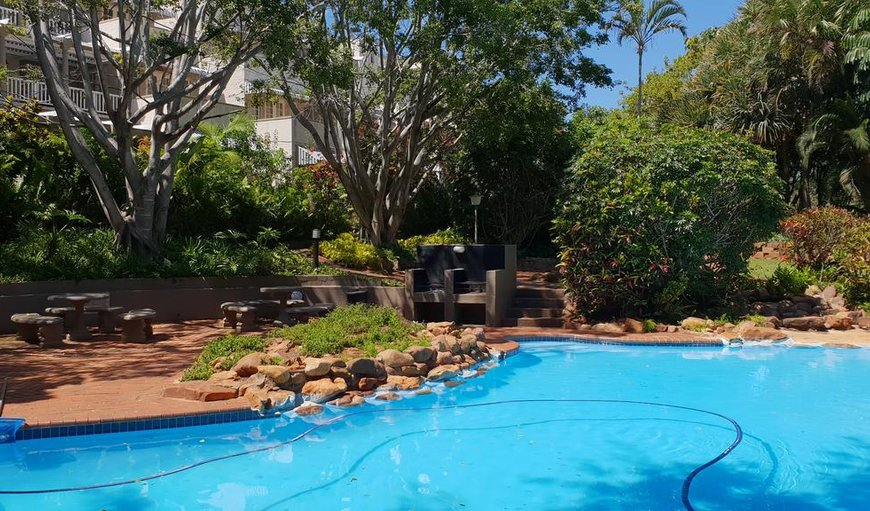 Sparkling pool in Ballito, KwaZulu-Natal , South Africa