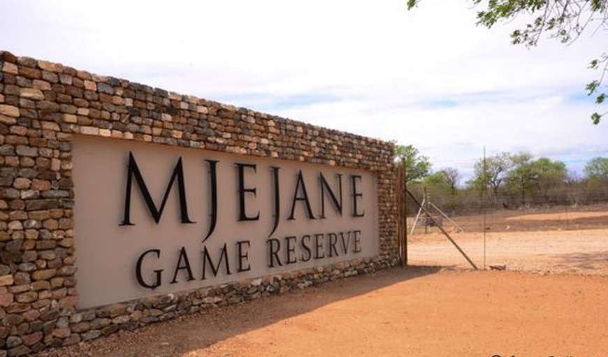 Welcome to the reserve in Mjejane Private Nature Reserve, Mpumalanga, South Africa