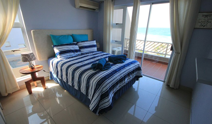 Main bedroom with view in Umdloti Beach, Durban, KwaZulu-Natal, South Africa