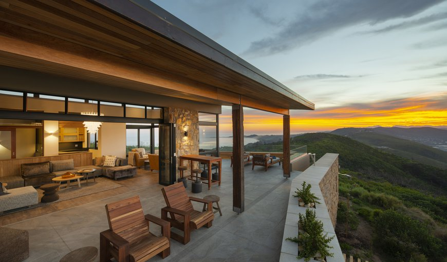 Terrace and lounge in Brenton on Sea, Knysna, Western Cape , South Africa