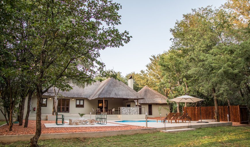 The villa offers luxury accommodation just 4.4km of Kruger National Park's Phalaborwa Gate with a beautiful patio, garden and pool only 30 metres from the Kruger fence.