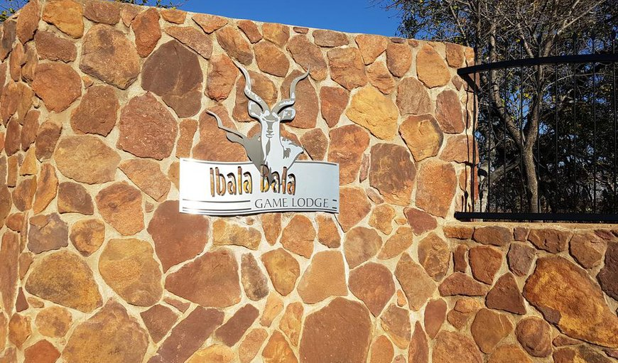 Ibala Bala Game Lodge in Lephalale (Ellisras), Limpopo, South Africa
