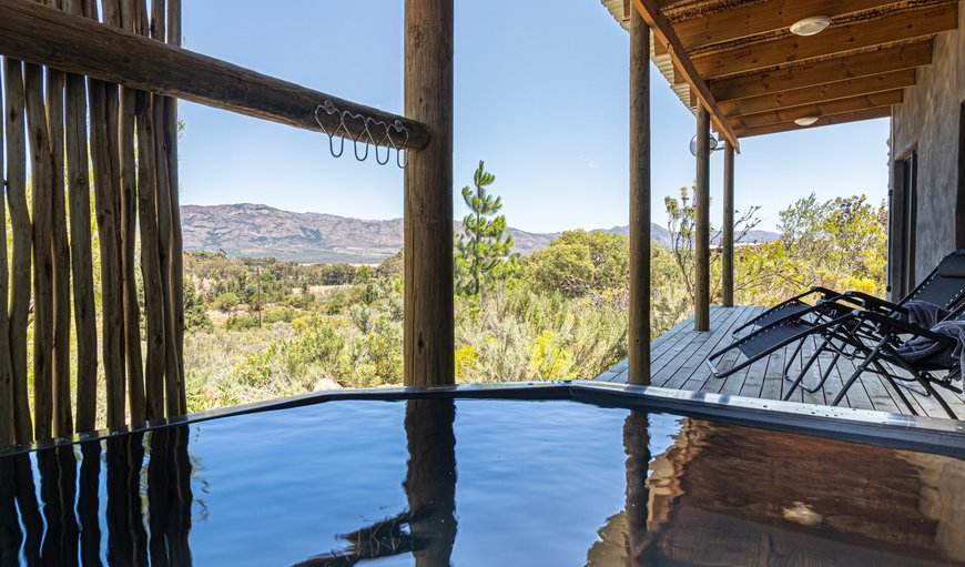 private wood-fired hot tub in Wolseley, Western Cape, South Africa