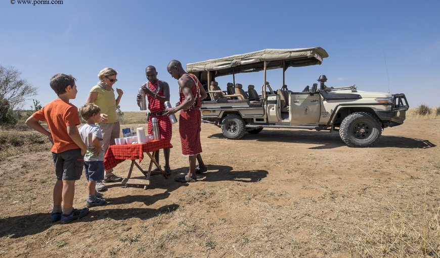 The award-winning, eco-friendly Porini Lion Camp offers a unique opportunity to take guided walks with Maasai Warriors