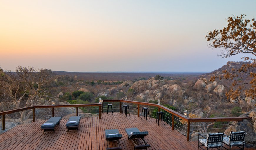 Viewing deck in Phalaborwa, Limpopo, South Africa