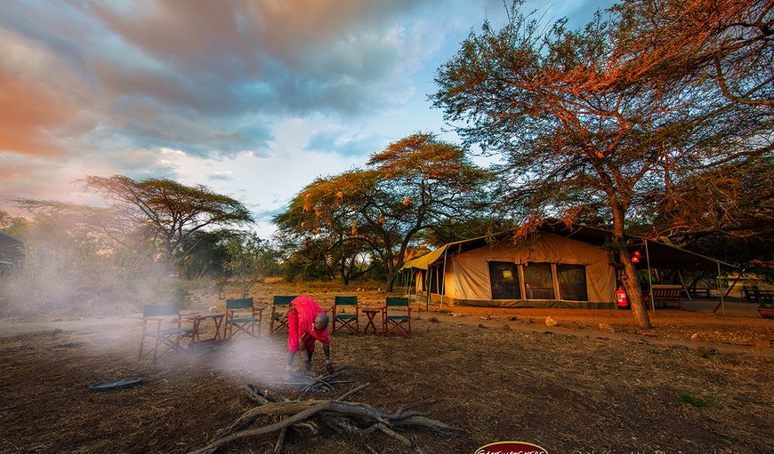 Welcome to Porini Amboseli Camp! in Amboseli National Park , Rift Valley, Kenya