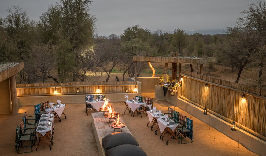 Boma evenings at Becks Safari Lodge in Hoedspruit, Limpopo, South Africa