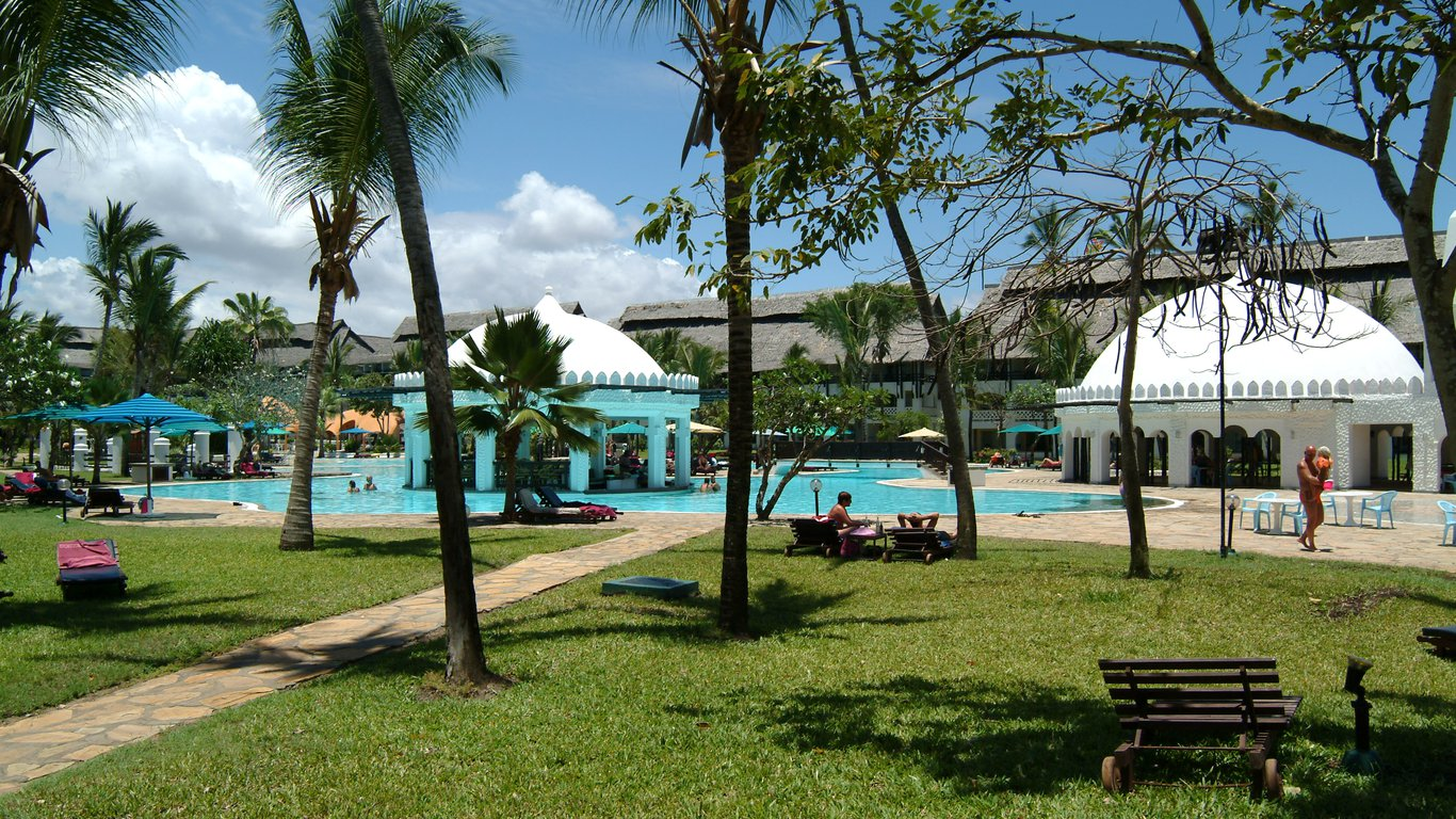 Southern Palms Beach Resort in Mombasa