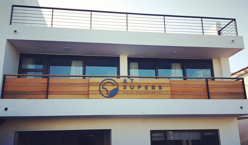 Welcome at AtSupers in Jeffreys Bay, Eastern Cape, South Africa